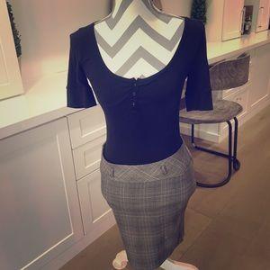 Body con skirt